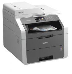 Color LED Multifunctional BROTHER DCP9020CDW, Scan/Print/Copy, Printer 18 ppm single pass 2400x600dpi, Copier 18 ppm 600x600 ADF, CIS Scanner 1200x2400dpi, 192 MB, PCL6 BRScript3, WNetwork, USB, Duplex