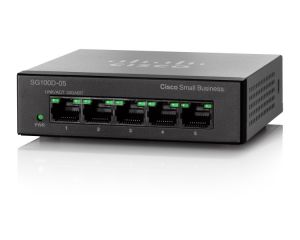 SG110D-05 5-Port Gigabit Desktop Switch