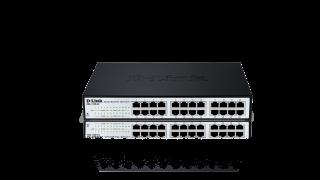 Комутатор D-Link DES-1100-24 24-port 10/100 EasySmart Switch