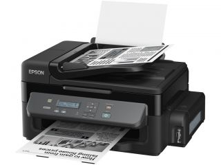Multifunctional Inkjet Device EPSON M200, A4 Print,scan,copy, with ADF,mono, 1440 x 720dpi, 34ppm black, 3pl.