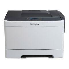 Color Laser Printer Lexmark CS317dn Duplex ; A4; 1200 x 1200 dpi;4800 CQ; 23 ppm; 256 MB; capacity: 250 sheets; USB 2.0; LAN; 2-line APA LCD