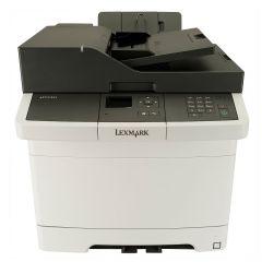 Color Laser Multifunctional Lexmark CX317dn 3in1; Duplex; A4; 1200 x 1200 dpi; 4800 CQ;23 ppm; 512 MB; Simplex; 23 cpm; capacity: 250 sheets; USB 2.0; Gigabit LAN; display: 2.4'' colour LCD