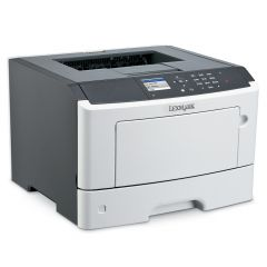 Mono Laser Printer Lexmark MS417dn Duplex; A4; 1200 x 1200 dpi; 38ppm; 256 MB;capacity: 300 sheets;paper output:150 sheets; GigEthernet, USB, parallel