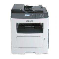 Mono Laser Multifunctional Lexmark MX317dn 4in1;Duplex; A4; 1200 x 1200 dpi;2400 IQ; 33 ppm; 256 MB;Simplex;33 cpm; capacity: 300 sheets; USB 2.0; 10/100 BaseTX; display: 2.4'' colour LCD