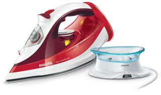 Philips Парна ютия Azur Performer, безкабелна, 180 g steam boost 2400 W with SteamGlide Plus