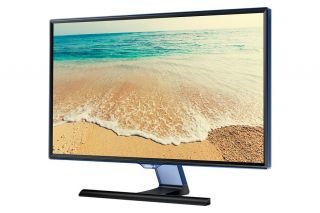 "TV Monitor Samsung T24E390E 23.6"" LED, Full HD (1920x1080) PLS, Brightness: 250cd/m2, Contrast: 1000:1, Response time: 5ms, Viewing Angle: 178°/178° , D-SUB, 2xHDMI, USB, Stereo Speakers, DVB-T/C, Black"