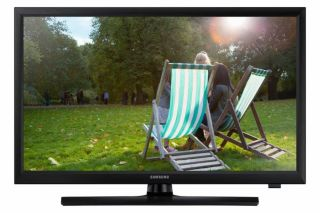 "TV Monitor Samsung T28E310X 27.5"" LED, HD (1366x768), Brightness: 250cd/m2, Contrast: 1000:1, Response time: 8ms, Viewing Angle: 178°/178° , 2xHDMI, USB, Stereo Speakers, DVB-T2/C, Black"