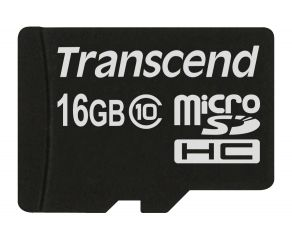 Памет Transcend 16GB microSDXC/SDHC Class 10 (Premium) (No Box & Adapter)