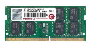 Памет Transcend 8GB DDR4, 2400 (1 x 8GB) 260  SO-DIMM 1.2 V, 17-17-17 2Rx8