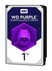 HDD 1TB SATAIII WD Purple 64MB for DVR/Surveillance (3 years warranty)