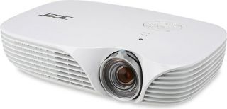 PROMO! Projector Acer K138ST LED, Short-throw, Hybrid Laser-LED, DLP® 3D Ready, Native WXGA (1280 x 800), Contrast: 100 000:1, Brightness: 800 ANSI lumens (standard); 640 ANSI Lumens(ECO), Input: Analog RGB; HDMI®/MHL™; PC Audio; Output: PC Audio; DC Out