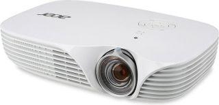 PROMO! Projector Acer K138ST LED, Short-throw, Hybrid Laser-LED, DLP® 3D Ready, Native WXGA (1280 x 800), Contrast: 100 000:1, Brightness: 800 ANSI lumens (standard); 640 ANSI Lumens(ECO), Input: Analog RGB; HDMI®/MHL™; PC Audio; Output: PC Audio; DC Out